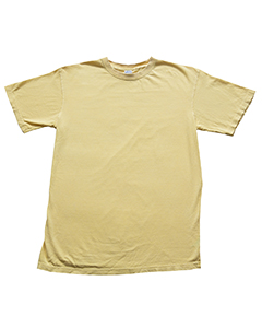 Wholesale Collegiate Cotton CD1233 5.6 oz. 100% Ringspun Cotton Pigment-Dye T-Shirt - BANANA