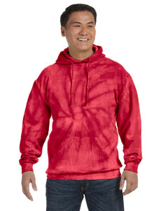CD877 Adult 8.5 oz. Tie-Dyed Pullover Hood