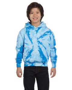CD877Y Youth 8.5 oz. Tie-Dyed Pullover Hood