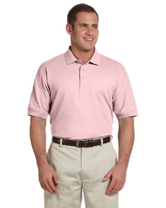 D100 Men's Pima Pique Short-Sleeve Polo