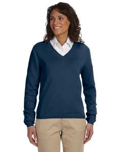 D475W Ladies' V-Neck Sweater