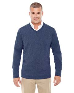 D884 Adult Fairfield Herringbone V-Neck Pullover