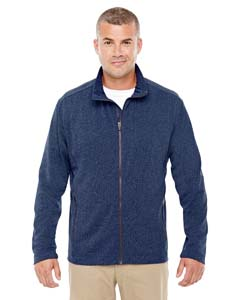 D885 Men's Fairfield Herringbone Full-Zip Jacket