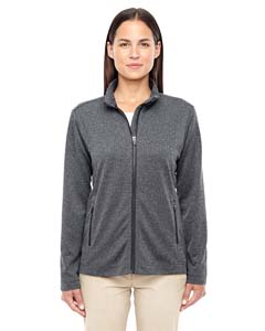 D885W Ladies' Fairfield Herringbone Full-Zip Jacket