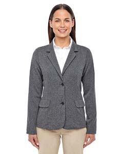 D886W Ladies' Fairfield Herringbone Soft Blazer