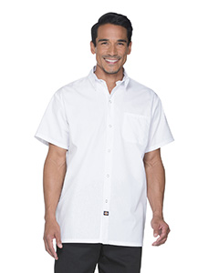 DC60 Unisex Poplin Short Sleeve Cook Shirt