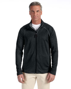 Wholesale Devon & Jones DG420 Men's Stretch Tech-Shell® Compass Full-Zip - BLACK