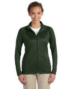 DG420W Ladies' Stretch Tech-Shell® Compass Full-Zip