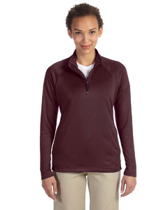 DG440W Ladies' Stretch Tech-Shell® Compass Quarter-Zip