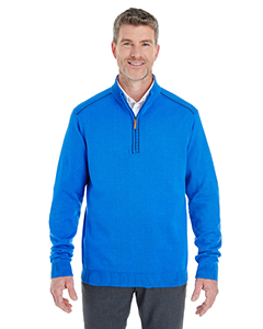 DG478 Men's Manchester Fully-Fashioned Quarter-Zip Sweater