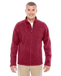 DG793 Men's Bristol Full-Zip Sweater Fleece Jacket