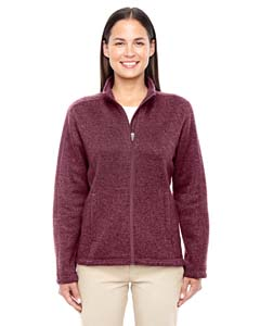 DG793W Ladies' Bristol Full-Zip Sweater Fleece Jacket
