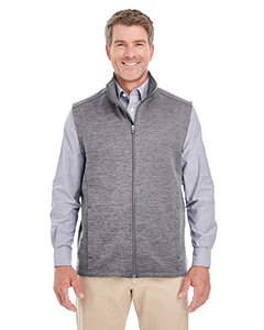 DG797 Men's Newbury Mélange Fleece Vest