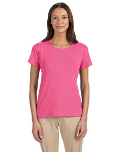 DP182W Ladies' Perfect Fit™ Shell T-Shirt