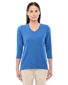 DP184W Ladies' Perfect Fit™ Bracelet Length V-Neck Top