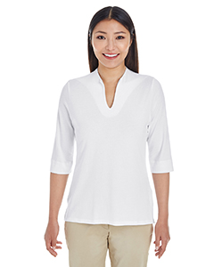 DP188W Ladies' Perfect Fit™ Tailored Open Neckline Top