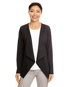DP465W Perfect Fit™ Draped Open Blazer