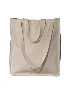 EC8040 Organic Cotton Canvas Market Tote