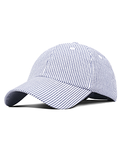 F303 Light Weight Cotton Seersucker Cap