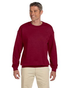 Wholesale Gildan G180 Adult Heavy Blend™  8 oz., 50/50 Fleece Crew - ANTIQ CHERRY RED