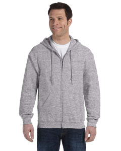 G186 Adult Heavy Blend™   8 oz., 50/50 Full-Zip Hood