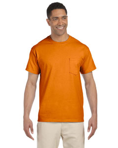 G230 Adult Ultra Cotton® 6 oz. Pocket T-Shirt