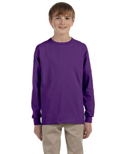 G240B Youth Ultra Cotton®6 oz. Long-Sleeve T-Shirt