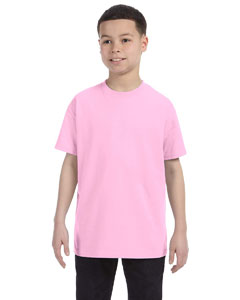 Wholesale Gildan G500B Youth 5.3 oz. T-Shirt - LIGHT PINK