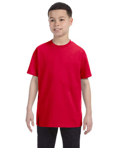 Wholesale Gildan G500B Youth 5.3 oz. T-Shirt - RED