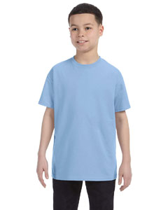 Wholesale Gildan G500B Youth 5.3 oz. T-Shirt - LIGHT BLUE