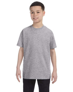 Wholesale Gildan G500B Youth 5.3 oz. T-Shirt - SPORT GREY