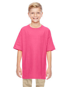 Wholesale Gildan G500B Youth 5.3 oz. T-Shirt - SAFETY PINK