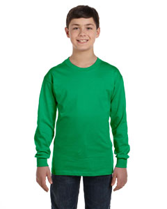 G540B Youth 5.3 oz. Long-Sleeve T-Shirt