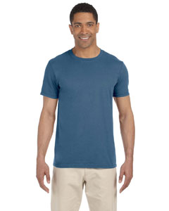 Wholesale Gildan G640 Adult Softstyle®  4.5 oz. T-Shirt - INDIGO BLUE