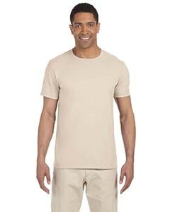 Wholesale Gildan G640 Adult Softstyle®  4.5 oz. T-Shirt - NATURAL