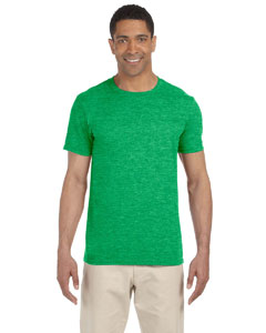Wholesale Gildan G640 Adult Softstyle®  4.5 oz. T-Shirt - HTHR IRISH GREEN