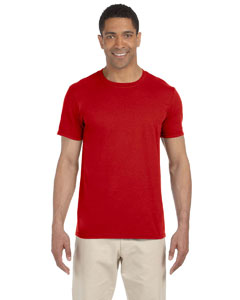 Wholesale Gildan G640 Adult Softstyle®  4.5 oz. T-Shirt - RED