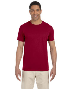 Wholesale Gildan G640 Adult Softstyle®  4.5 oz. T-Shirt - CARDINAL RED