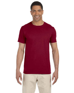 Wholesale Gildan G640 Adult Softstyle®  4.5 oz. T-Shirt - ANTIQ CHERRY RED