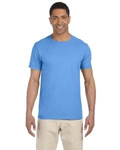 Wholesale Gildan G640 Adult Softstyle®  4.5 oz. T-Shirt - CAROLINA BLUE