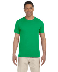 Wholesale Gildan G640 Adult Softstyle®  4.5 oz. T-Shirt - IRISH GREEN