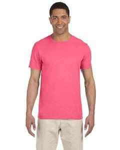 Wholesale Gildan G640 Adult Softstyle®  4.5 oz. T-Shirt - CORAL SILK