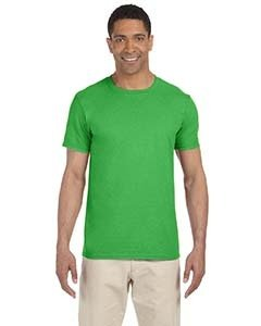 Wholesale Gildan G640 Adult Softstyle®  4.5 oz. T-Shirt - ELECTRIC GREEN