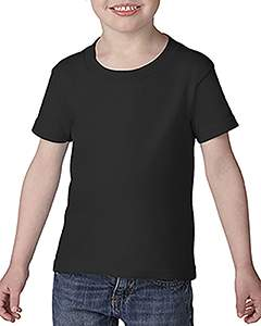 Wholesale Gildan G645P Toddler Softstyle® 4.5 oz. T-Shirt - BLACK