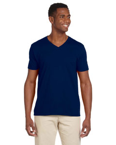 G64V Adult Softstyle®  4.5 oz. V-Neck T-Shirt