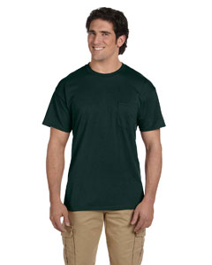 G830 Adult DryBlend® 5.6 oz., 50/50 Pocket T-Shirt