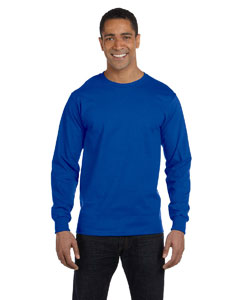 G840 Adult DryBlend® 5.6 oz., 50/50 Long-Sleeve T-Shirt