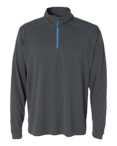 JA8186 Adult Shadow Mesh 1/4 Zip