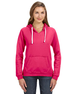 JA8836 Adult Sydney Brushed Pullover Hood