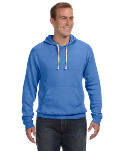 JA8871 Adult Tri-blend Fleece Pullover Hood